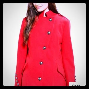 NWT .Jack by BB Dakota military style coat